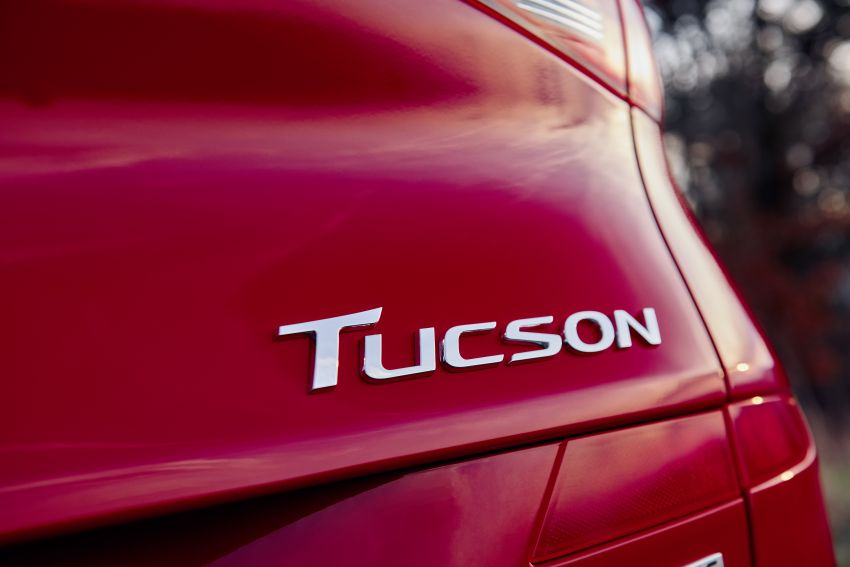 Hyundai Tucson N Line lebih garang, pilihan enjin baru Image #937354