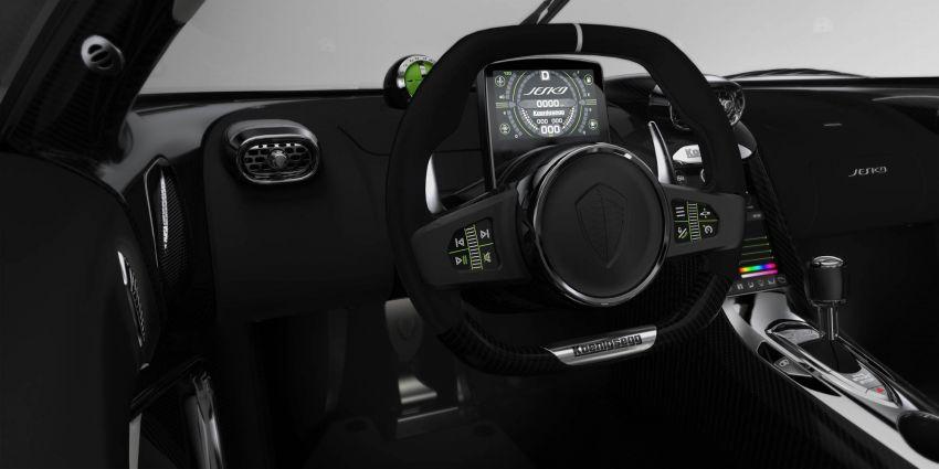 Koenigsegg Jesko debuts in Geneva – 5.0L twin-turbo V8; 1,600 hp, 1,500 Nm; Light Speed Transmission Image #930663