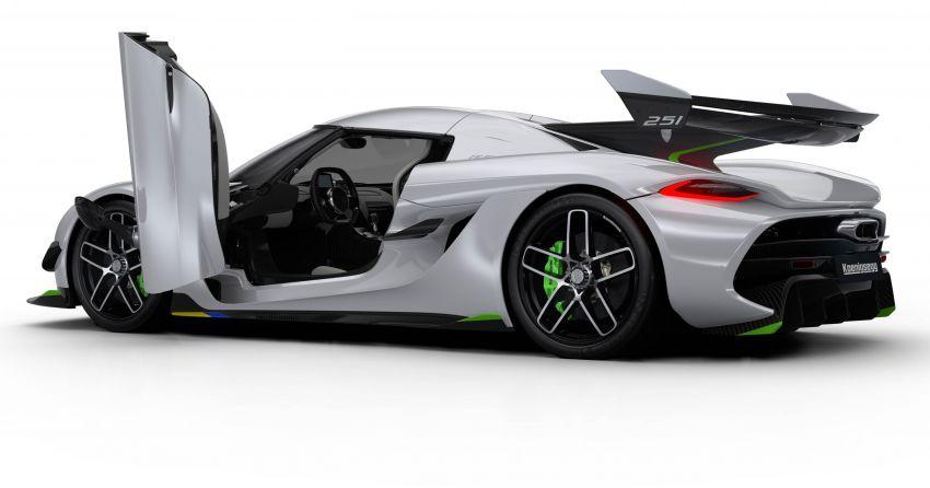 Koenigsegg Jesko muncul di Geneva – enjin V8 5.0L twin turbo 1,600 hp, 1500 Nm, transmisi Light Speed Image #930990