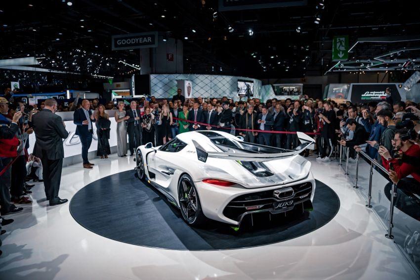 Koenigsegg Jesko debuts in Geneva – 5.0L twin-turbo V8; 1,600 hp, 1,500 Nm; Light Speed Transmission Image #935335