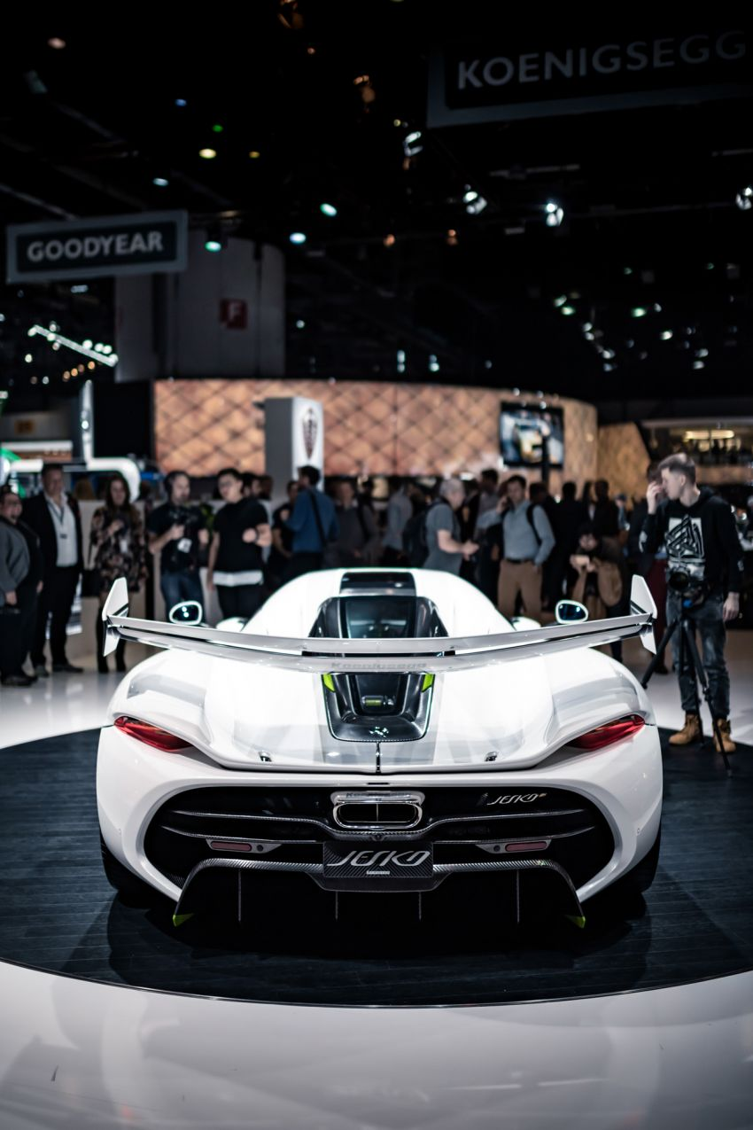 Koenigsegg Jesko debuts in Geneva – 5.0L twin-turbo V8; 1,600 hp, 1,500 Nm; Light Speed Transmission Image #935345