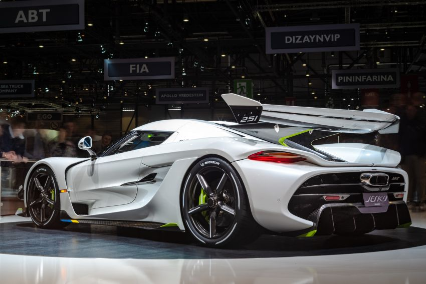 Koenigsegg Jesko debuts in Geneva – 5.0L twin-turbo V8; 1,600 hp, 1,500 Nm; Light Speed Transmission Image #935348