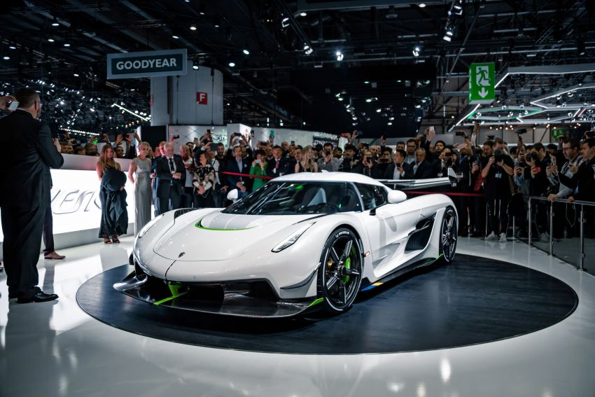 Koenigsegg Jesko debuts in Geneva – 5.0L twin-turbo V8; 1,600 hp, 1,500 Nm; Light Speed Transmission Image #935359