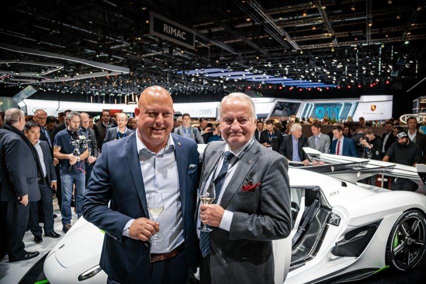 Koenigsegg Jesko debuts in Geneva – 5.0L twin-turbo V8; 1,600 hp, 1,500 Nm; Light Speed Transmission Image #935339