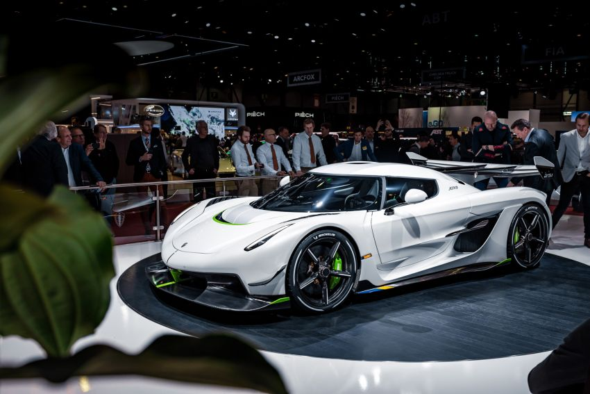 Koenigsegg Jesko debuts in Geneva – 5.0L twin-turbo V8; 1,600 hp, 1,500 Nm; Light Speed Transmission Image #935340