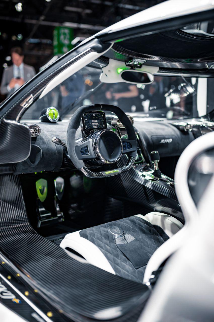 Koenigsegg Jesko debuts in Geneva – 5.0L twin-turbo V8; 1,600 hp, 1,500 Nm; Light Speed Transmission Image #935342