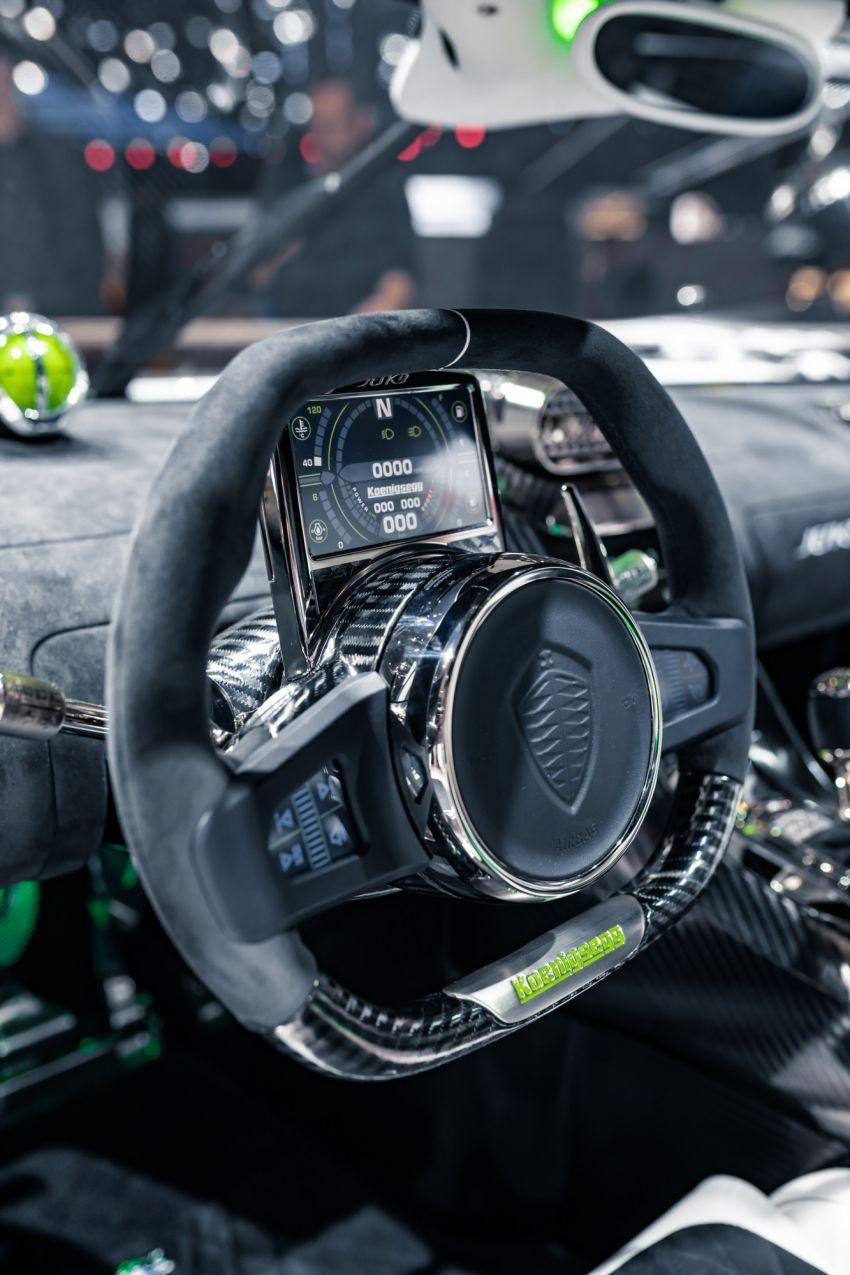 Koenigsegg Jesko debuts in Geneva – 5.0L twin-turbo V8; 1,600 hp, 1,500 Nm; Light Speed Transmission Image #935343