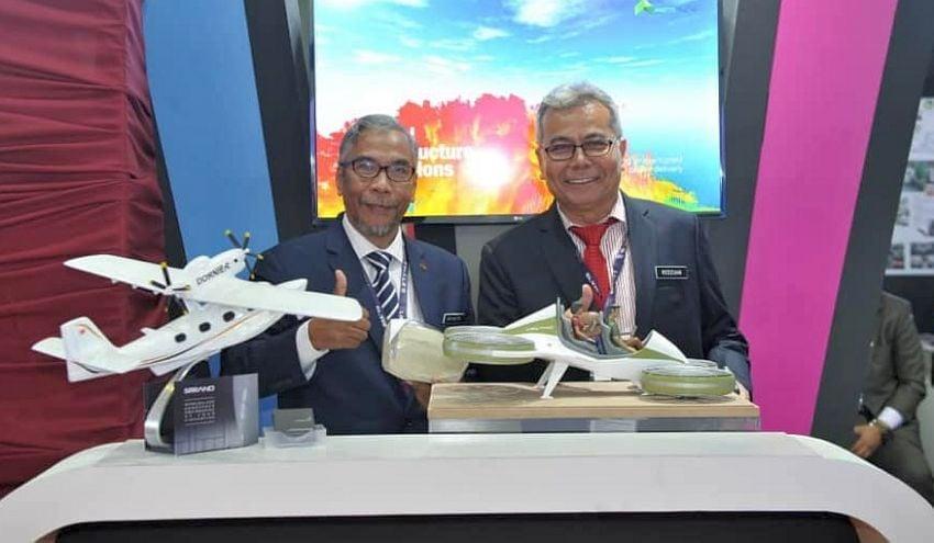 Flying vehicle 'prototype' model emerges at LIMA 2019 Image #939715