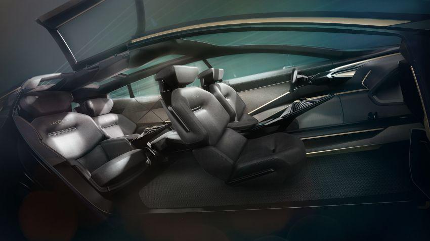 Lagonda All Terrain Concept – kenderaan tanpa emisi mewah yang bakal masuk fasa pengeluaran pada 2022 Image #932292