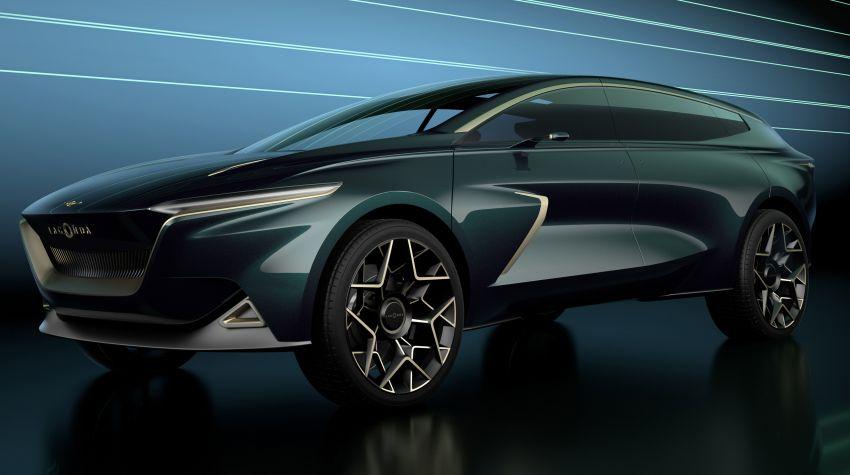 Lagonda All Terrain Concept – kenderaan tanpa emisi mewah yang bakal masuk fasa pengeluaran pada 2022 Image #932295