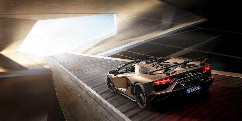 Lamborghini Aventador SVJ Roadster – only 800 units Image #929647
