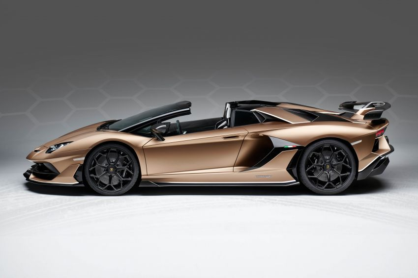 Lamborghini Aventador SVJ Roadster – only 800 units Image #929657