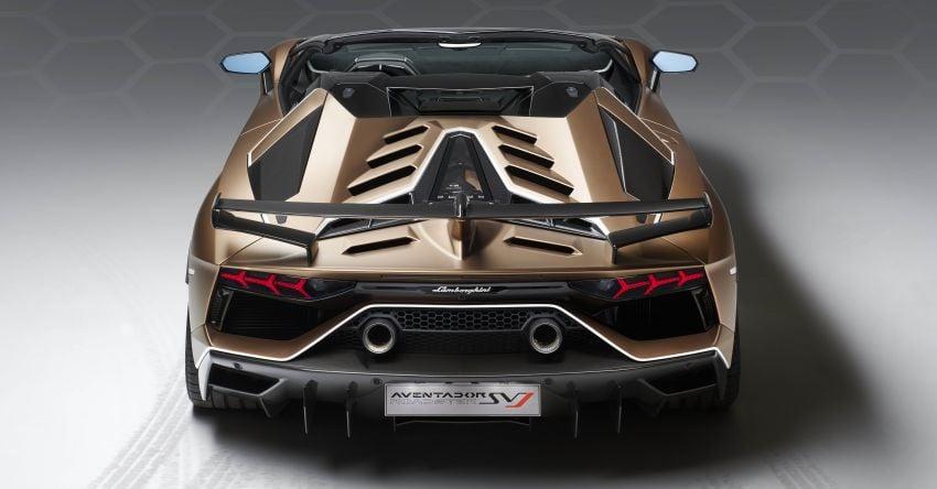 Lamborghini Aventador SVJ Roadster – only 800 units Image #929660