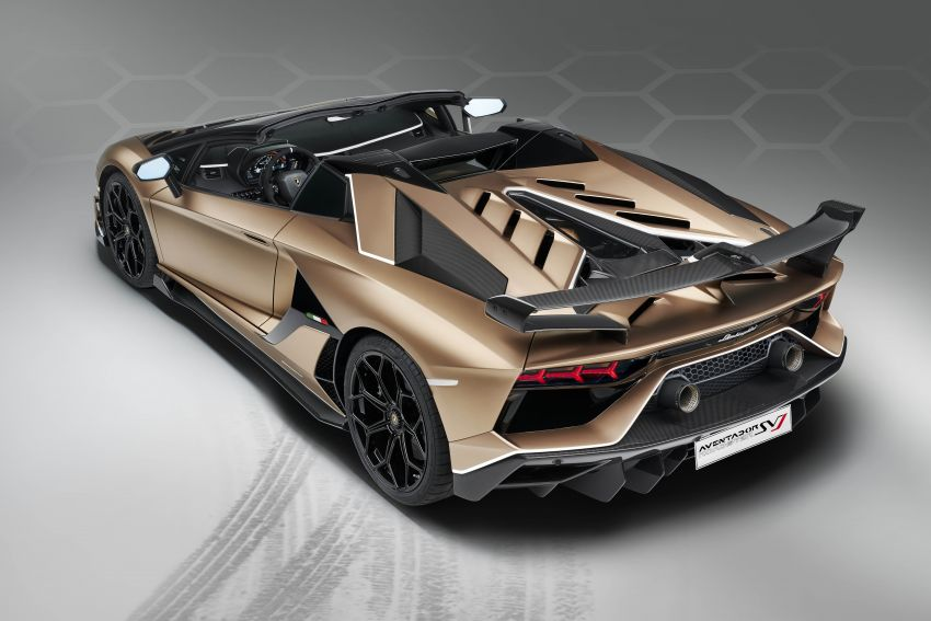 Lamborghini Aventador SVJ Roadster – only 800 units Image #929661