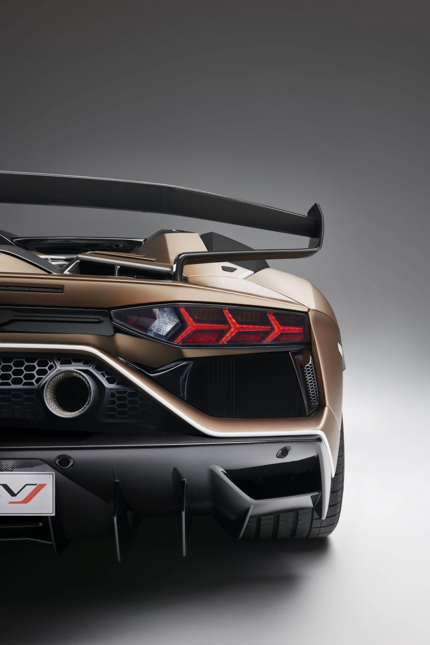 Lamborghini Aventador SVJ Roadster – only 800 units Image #929670