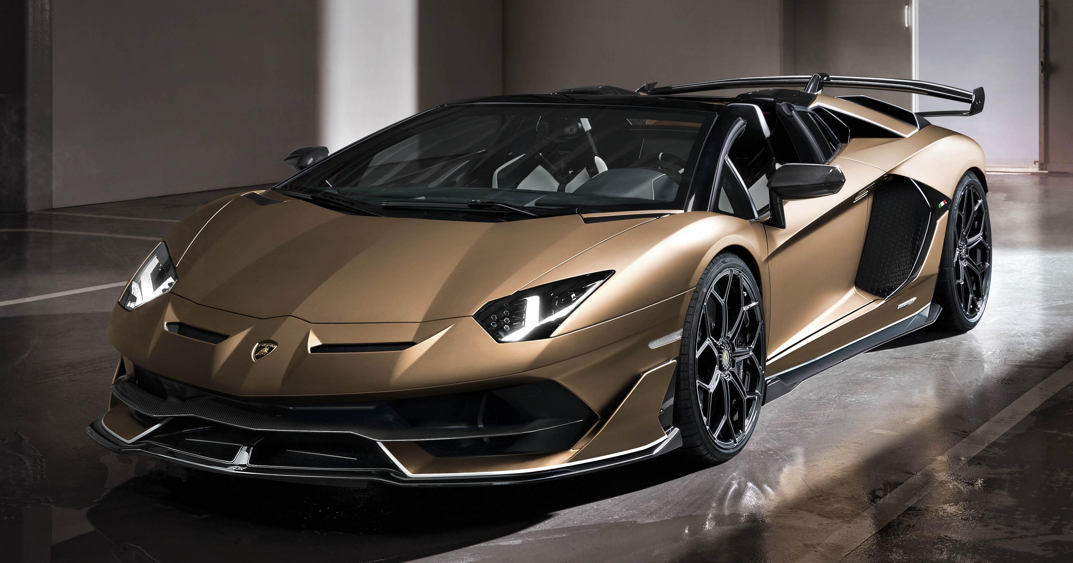 Lamborghini Aventador Svj Roadster Only 800 Units Paultan Org