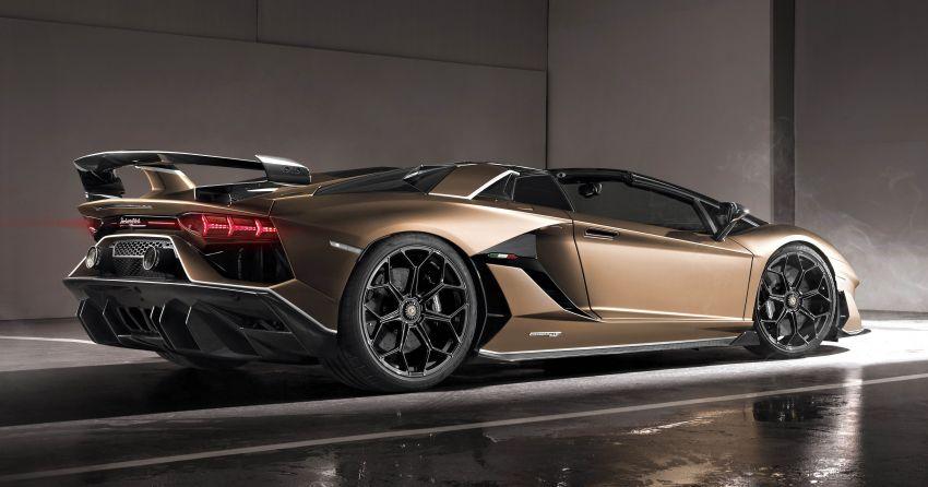 Lamborghini Aventador SVJ Roadster – only 800 units Image #929639