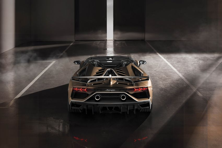 Lamborghini Aventador SVJ Roadster – only 800 units Image #929641
