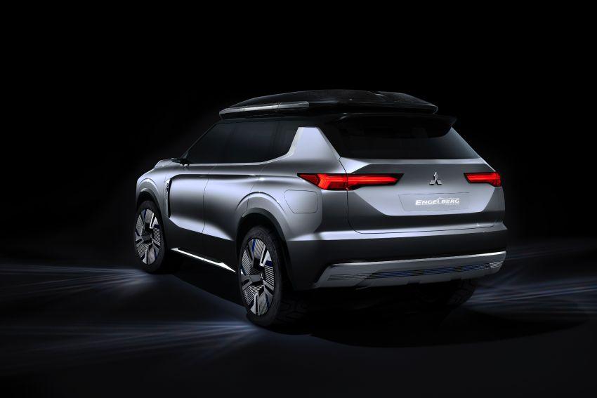 Mitsubishi Engelberg Tourer – PHEV SUV concept with 20 kWh battery, 70 km EV range, 700 km combined Image #932194