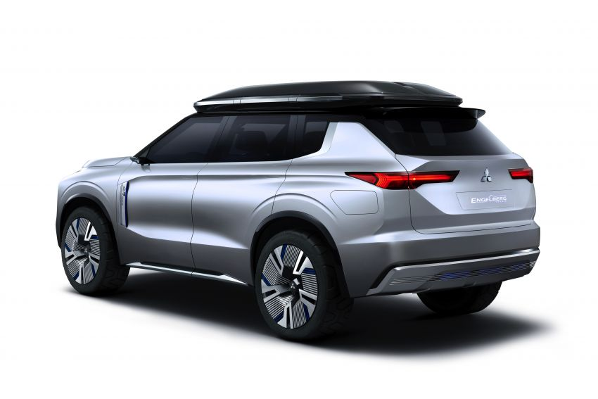 Mitsubishi Engelberg Tourer – PHEV SUV concept with 20 kWh battery, 70 km EV range, 700 km combined Image #932196