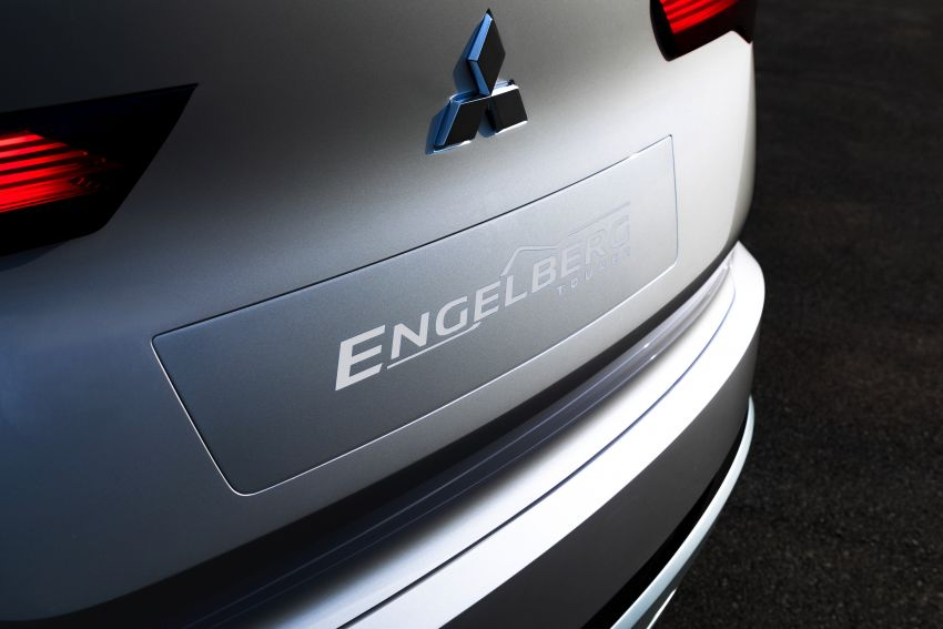 Mitsubishi Engelberg Tourer – PHEV SUV concept with 20 kWh battery, 70 km EV range, 700 km combined Image #932201