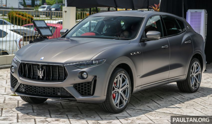 Maserati Levante Vulcano launched – only 10 units in Malaysia, 430 PS 3.0 litre biturbo V6, from RM838,800 Image #933858