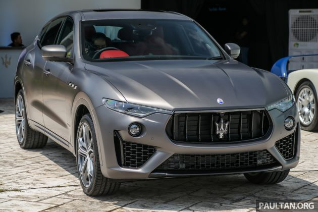 maserati levante vulcano launched – only 10 units in malaysia, 430