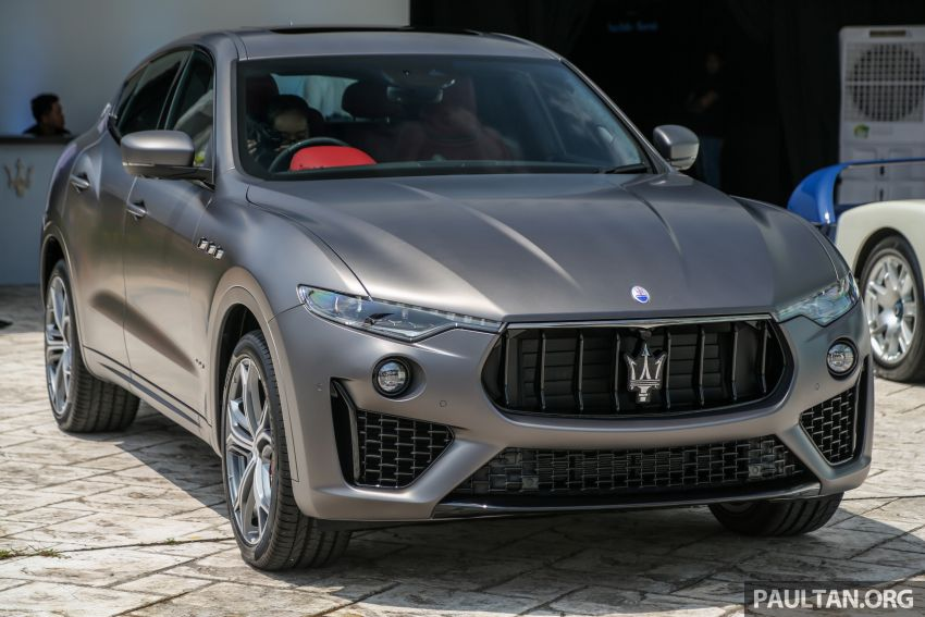 Maserati Levante Vulcano launched – only 10 units in Malaysia, 430 PS 3.0 litre biturbo V6, from RM838,800 Image #933859