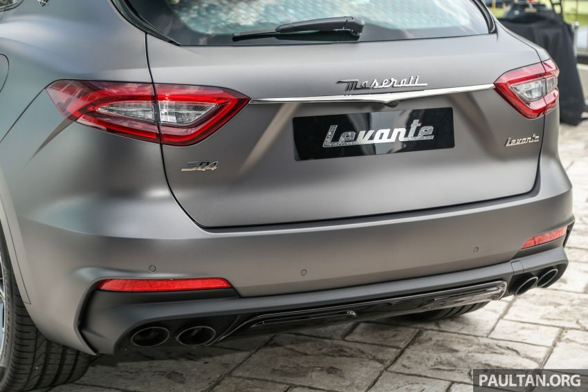 Maserati Levante Vulcano launched – only 10 units in Malaysia, 430 PS 3.0 litre biturbo V6, from RM838,800 Image #933888