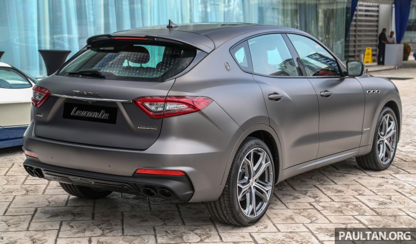 Maserati Levante Vulcano launched – only 10 units in Malaysia, 430 PS 3.0 litre biturbo V6, from RM838,800 Image #933860