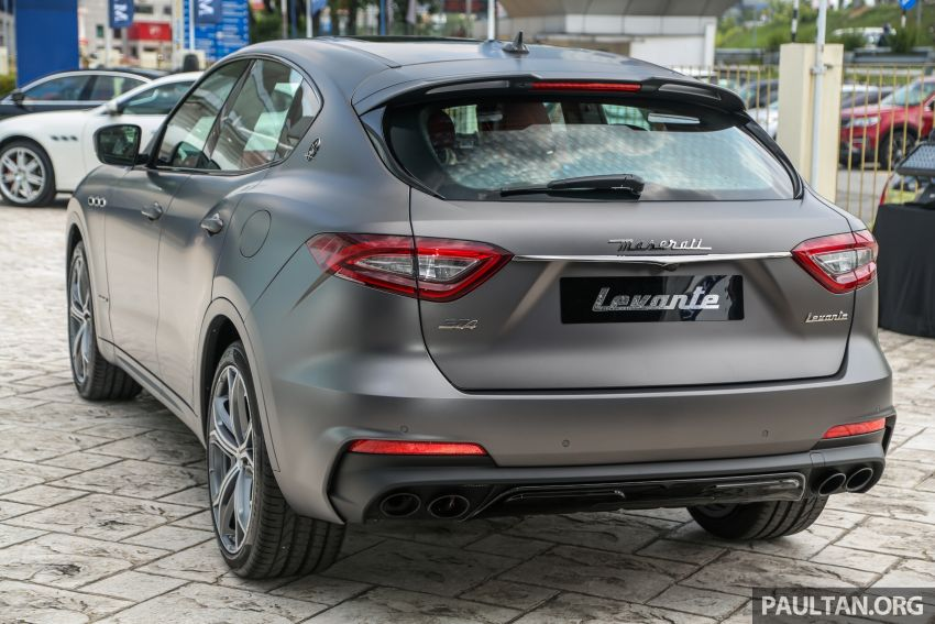 Maserati Levante Vulcano launched – only 10 units in Malaysia, 430 PS 3.0 litre biturbo V6, from RM838,800 Image #933861
