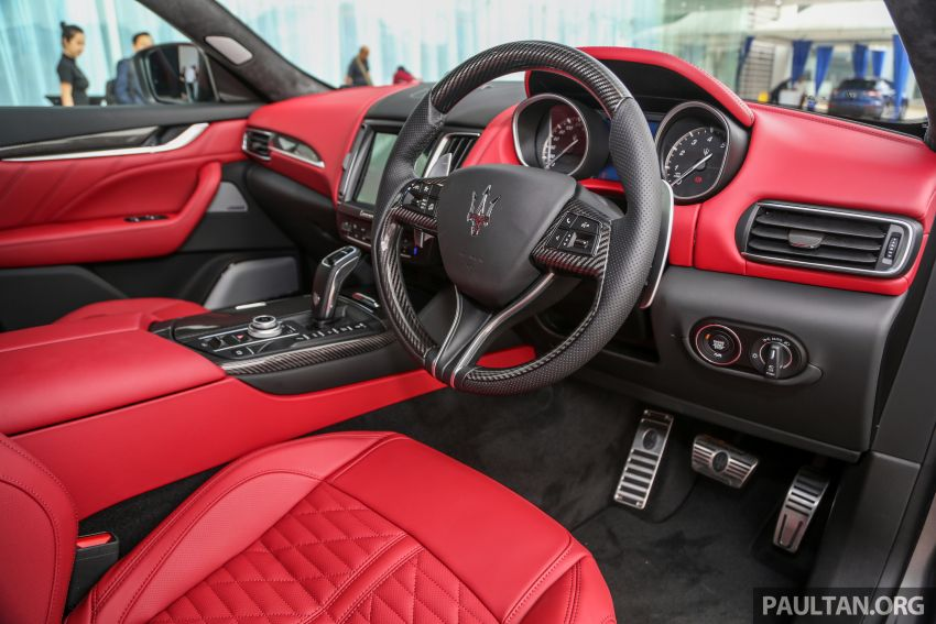 Maserati Levante Vulcano launched – only 10 units in Malaysia, 430 PS 3.0 litre biturbo V6, from RM838,800 Image #933898