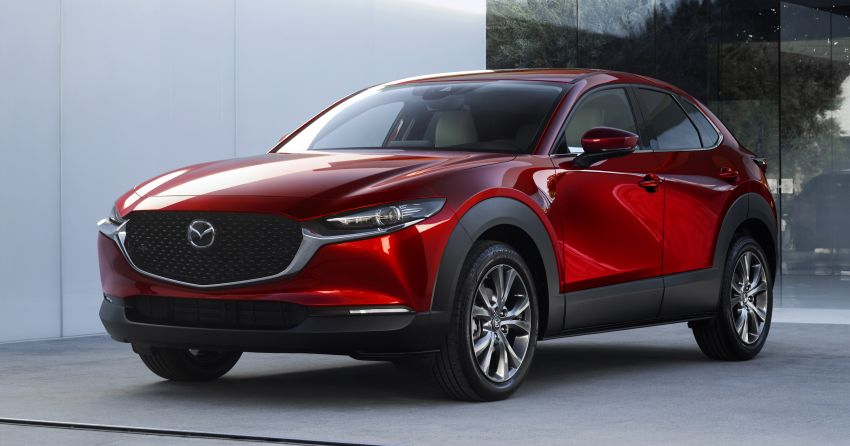 Mazda CX-30 makes its debut at Geneva Motor Show – new SUV is positioned between the CX-3 and CX-5 Image #930041