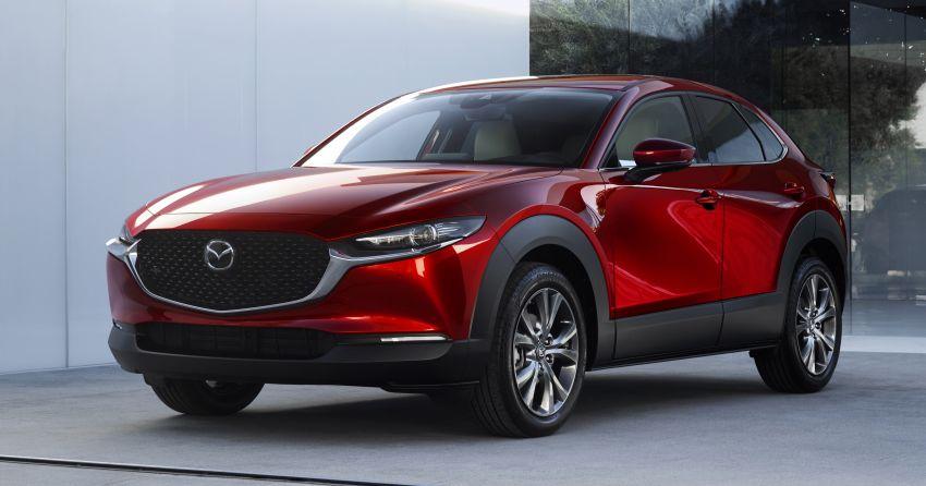 Mazda CX-30 tampil di Geneva Motor Show – SUV baharu yang diposisikan antara CX-3 dan CX-5 Image #930123