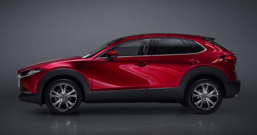 Mazda CX-30 tampil di Geneva Motor Show – SUV baharu yang diposisikan antara CX-3 dan CX-5 Image #930137