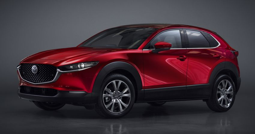 Mazda CX-30 makes its debut at Geneva Motor Show – new SUV is positioned between the CX-3 and CX-5 Image #930054