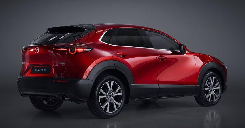 Mazda CX-30 tampil di Geneva Motor Show – SUV baharu yang diposisikan antara CX-3 dan CX-5 Image #930139