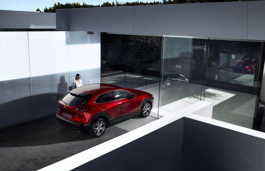 Mazda CX-30 tampil di Geneva Motor Show – SUV baharu yang diposisikan antara CX-3 dan CX-5 Image #930126