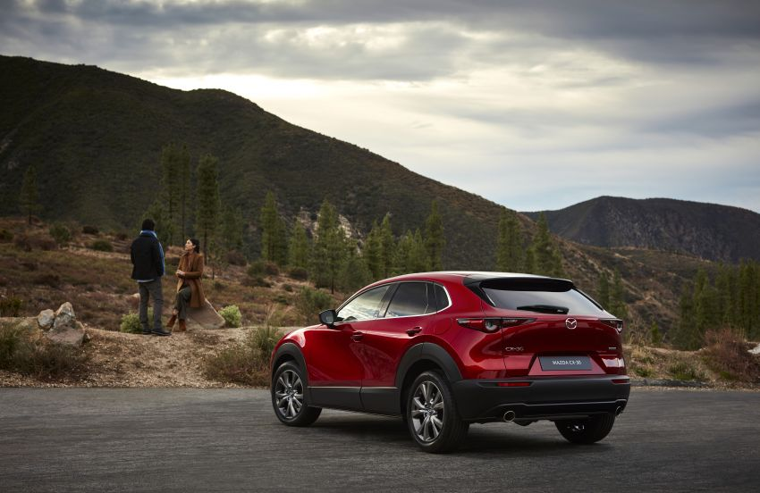 Mazda CX-30 makes its debut at Geneva Motor Show – new SUV is positioned between the CX-3 and CX-5 Image #930050