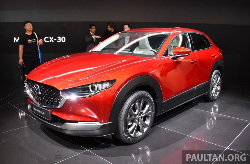 Mazda CX-30 makes its debut at Geneva Motor Show – new SUV is positioned between the CX-3 and CX-5 Image #930625