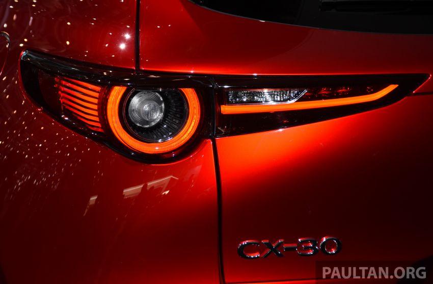 Mazda CX-30 tampil di Geneva Motor Show – SUV baharu yang diposisikan antara CX-3 dan CX-5 Image #930713