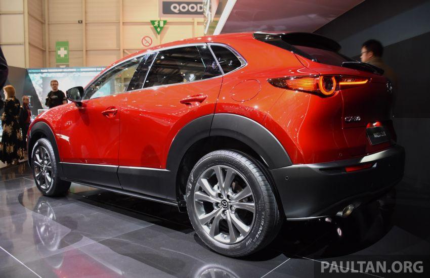 Mazda CX-30 tampil di Geneva Motor Show – SUV baharu yang diposisikan antara CX-3 dan CX-5 Image #930716