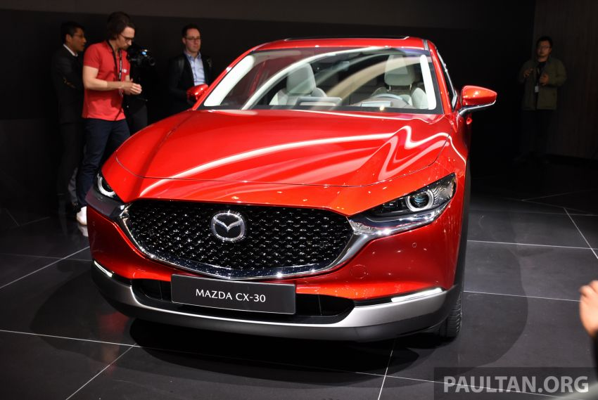 Mazda CX-30 makes its debut at Geneva Motor Show – new SUV is positioned between the CX-3 and CX-5 Image #930626