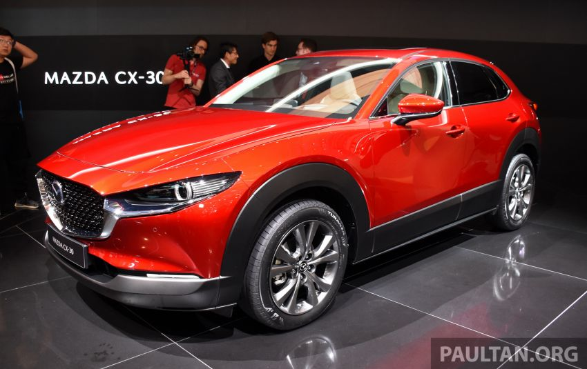 Mazda CX-30 makes its debut at Geneva Motor Show – new SUV is positioned between the CX-3 and CX-5 Image #930627