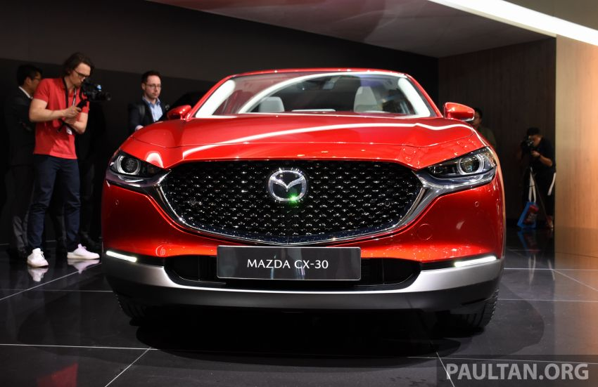 Mazda CX-30 makes its debut at Geneva Motor Show – new SUV is positioned between the CX-3 and CX-5 Image #930628