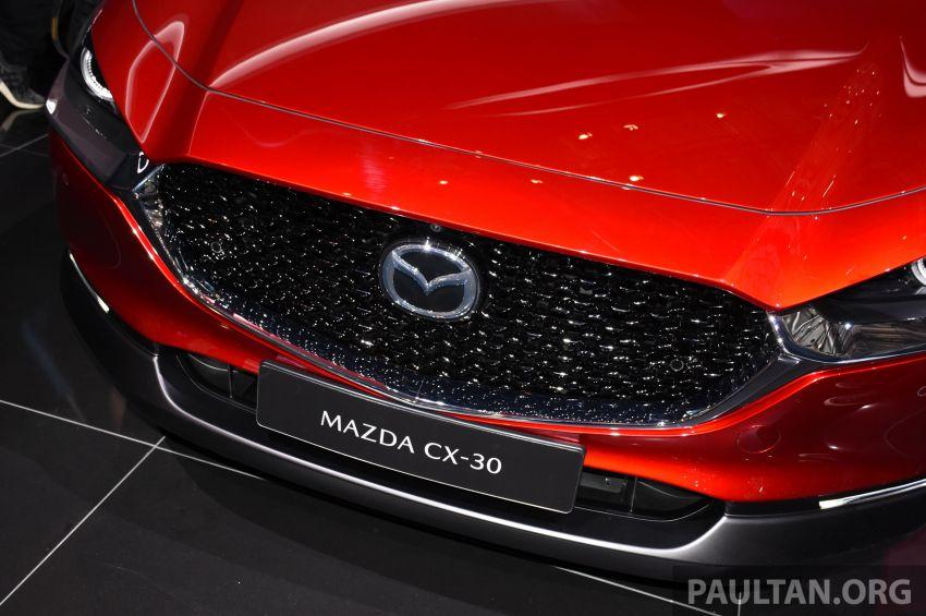 Mazda CX-30 tampil di Geneva Motor Show – SUV baharu yang diposisikan antara CX-3 dan CX-5 Image #930709