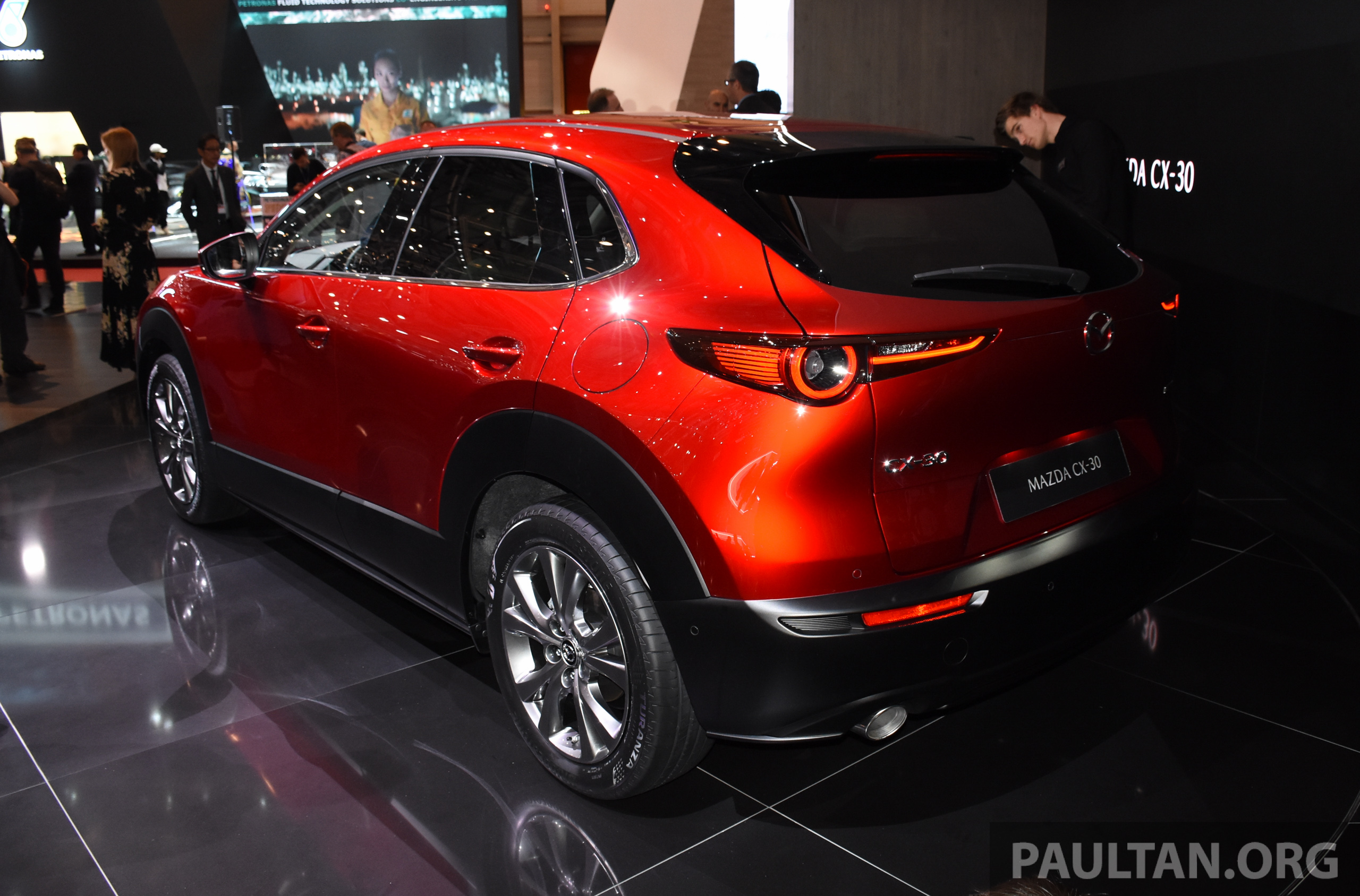 Mazda Cx 3 >> Mazda CX-30 makes its debut at Geneva Motor Show – new SUV is positioned between the CX-3 and CX ...