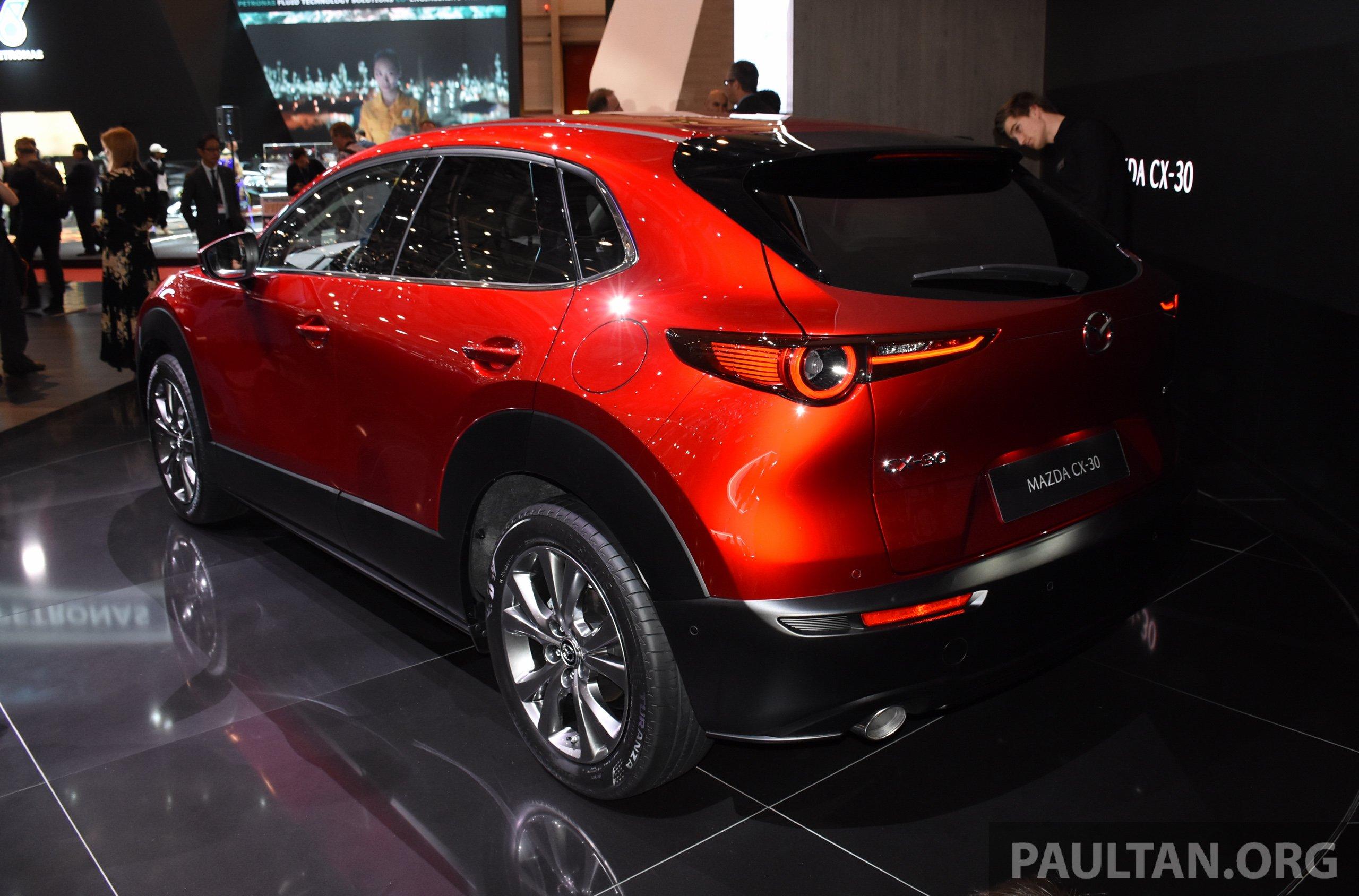 Mazda Cx 5 >> Mazda CX-30 makes its debut at Geneva Motor Show – new SUV ...