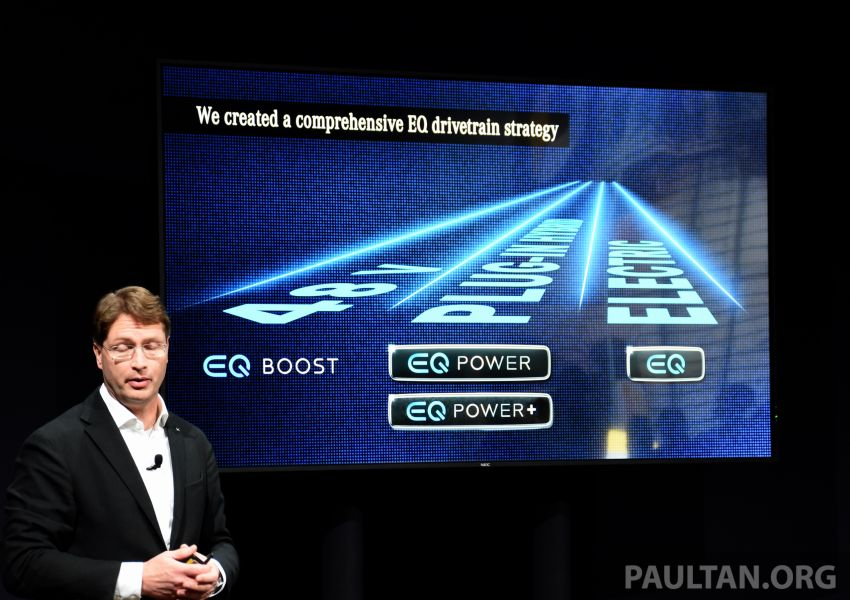 Mercedes-Benz PHEV electric-only range to increase to 100 km – plug-in A-Class and B-Class due this year Image #929541