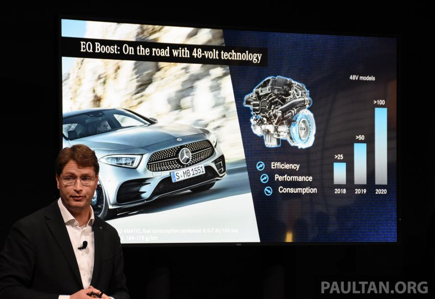 Mercedes-Benz PHEV electric-only range to increase to 100 km – plug-in A-Class and B-Class due this year Image #929542